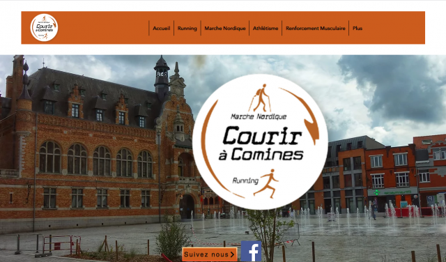 Page accueil site new
