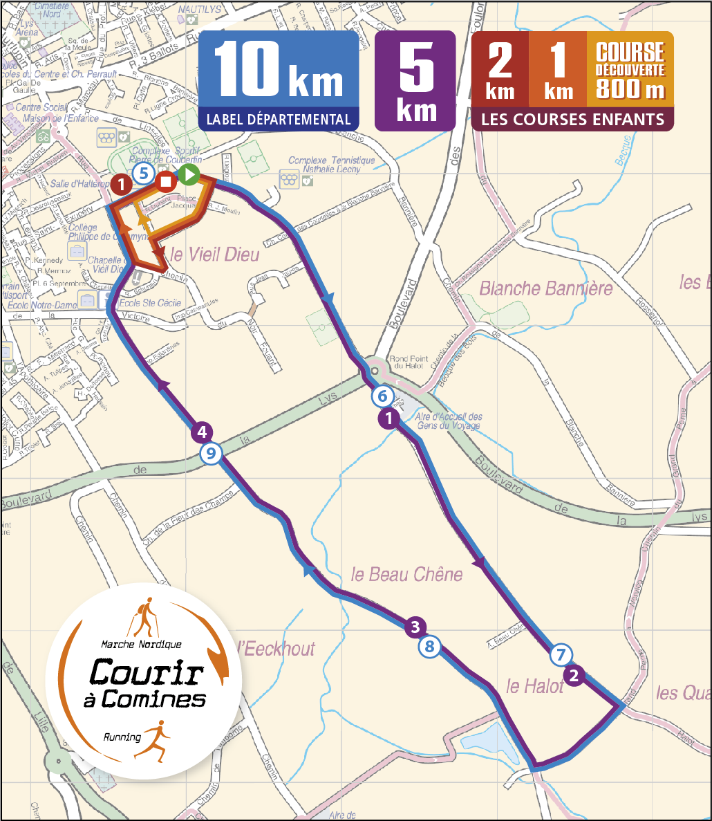 Parcours cdg 2019